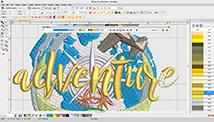EmbroideryStudio e4 Decorating Efficient Workspace