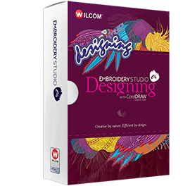 EmbroideryStudio e4 Designing Box Art