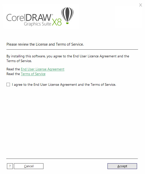 coreldraw x8 license agreement