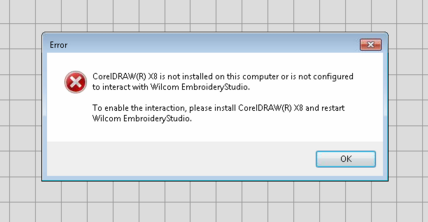 coreldraw error message