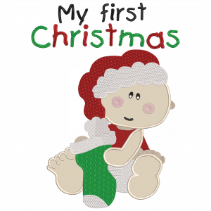 First Christmas Stock Design