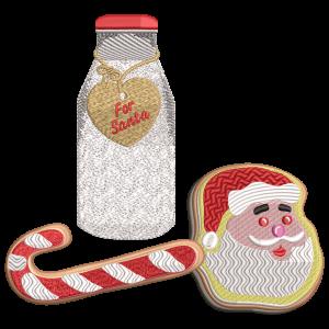 Milk and Cookies Stock Design