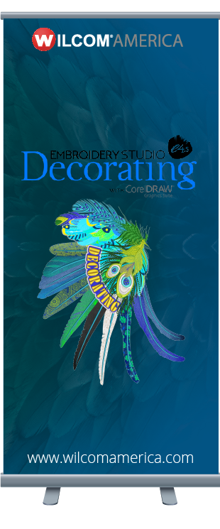 EmbroideryStudio e4.5 Decorating Banner
